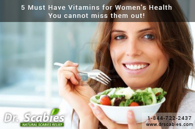 5 Must Have Vitamins for Women's Health- You cannot miss them out!