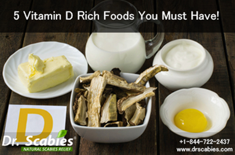 5 Vitamin D Rich Foods You Must Have!