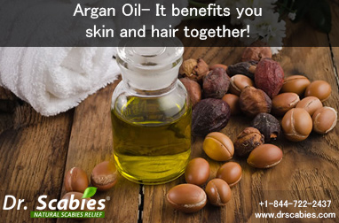 Argan Oil- It benefits you skin and hair together!