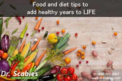Food and Diet Tips to Add Healthy Years to LIFE