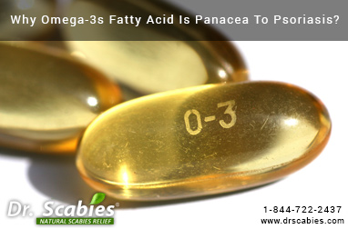 Why Omega-3s Fatty Acid Is Panacea To Psoriasis?