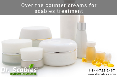 Over the counter creams for scabies treatment