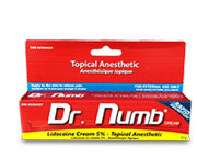 1 Tube of Dr. Numb Topical Numbing Cream