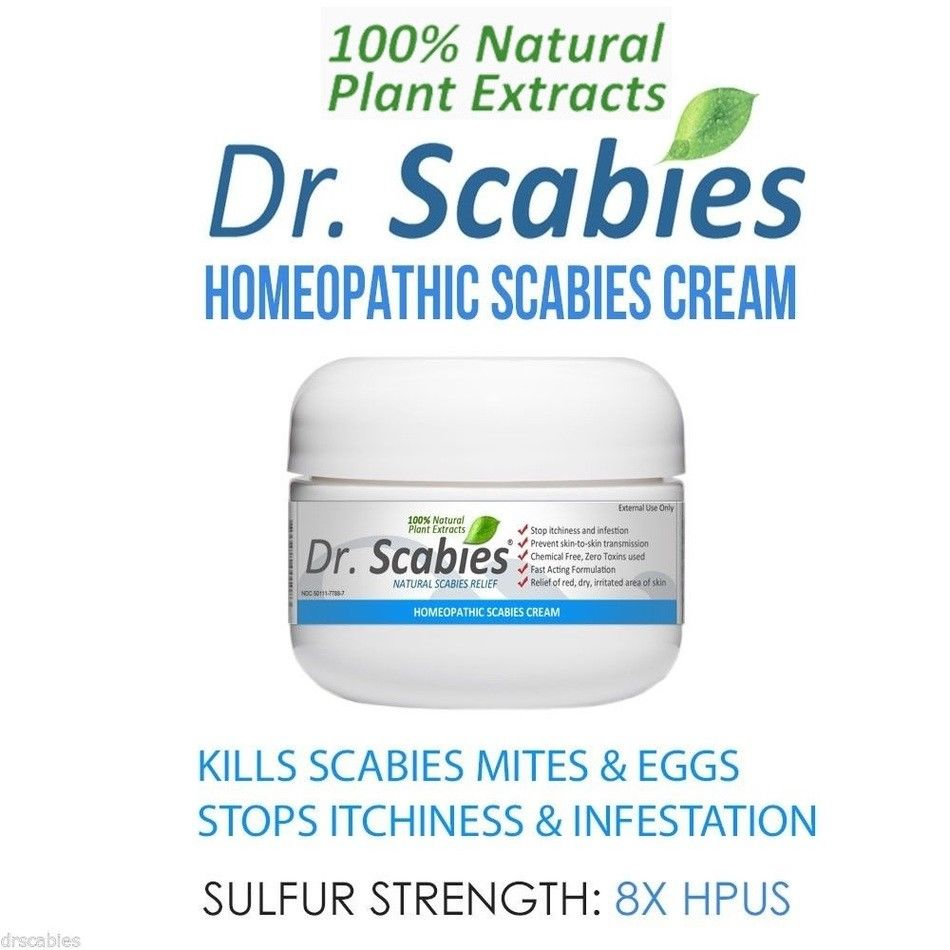 Dr scabies homeopathic cream